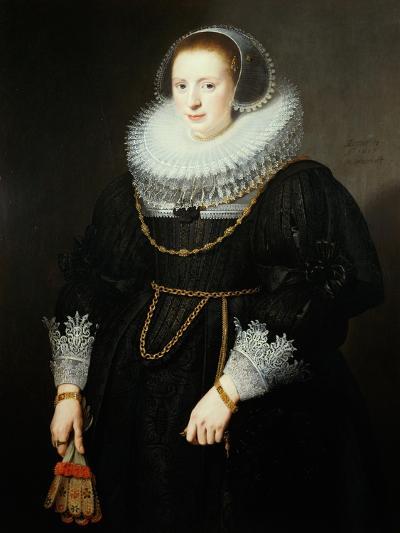 Portrait of a Girl, Aged 18-Michiel Jansz. van Miereveld-Giclee Print