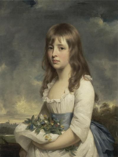 Portrait of a Girl, C.1790-Sir William Beechey-Giclee Print
