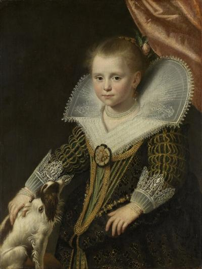 Portrait of a Girl, Known as 'The Little Pincess', 1623-Paulus Moreelse-Giclee Print