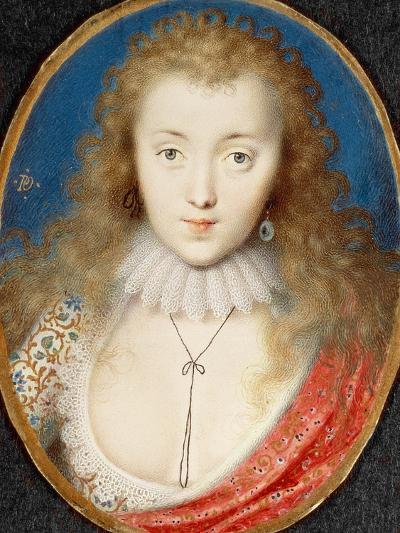 Portrait of a Girl, Probably Venetia Stanley (1600-1633), Later Lady Digby-Peter Oliver-Giclee Print