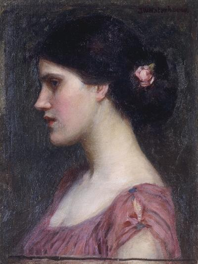 Portrait of a Girl-John William Waterhouse-Giclee Print