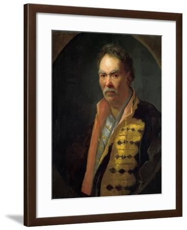 Portrait of a Hetman (Ivan Mazepa), 1720S-Ivan Nikitich Nikitin-Framed Giclee Print