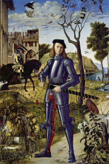 Portrait of a Knight, 1510-Vittore Carpaccio-Giclee Print