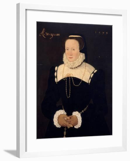 Portrait of a Lady, 1575-Cornelis Ketel-Framed Giclee Print