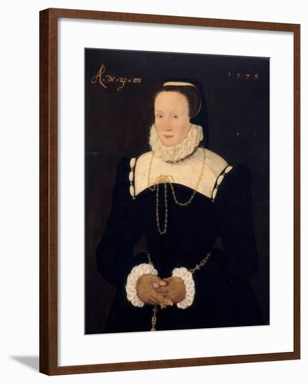 Portrait of a Lady, 1575-Cornelis Ketel-Framed Giclee Print