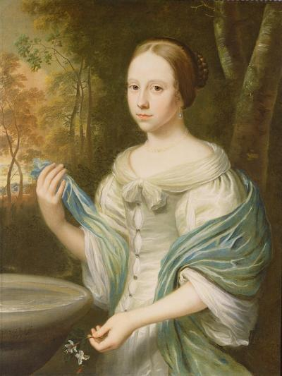Portrait of a Lady, 1671-Wallerant Vaillant-Giclee Print