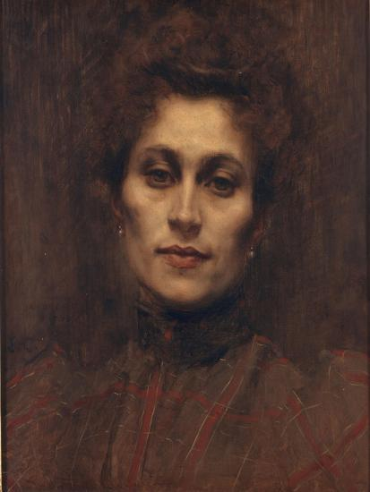 Portrait of a Lady, 1894-Eugene Carriere-Giclee Print