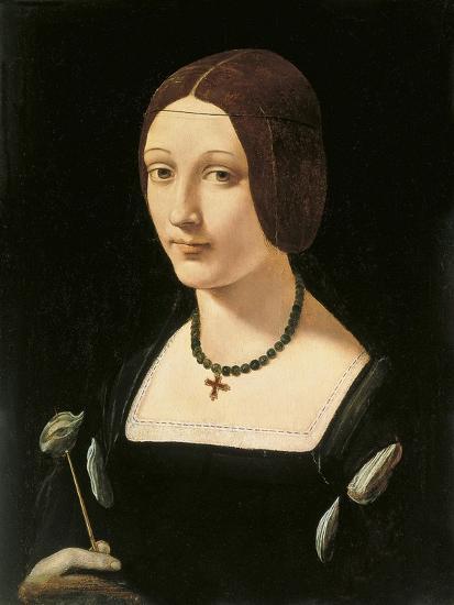 Portrait of a Lady as Saint Lucy-Giovanni Antonio Boltraffio-Giclee Print