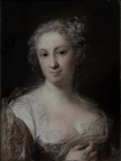 Portrait of a Lady, C.1730-40-Rosalba Giovanna Carriera-Giclee Print
