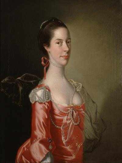 Portrait of a Lady, C.1760-Joseph Wright of Derby-Giclee Print