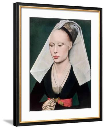 Portrait of a Lady, C1460-Rogier van der Weyden-Framed Giclee Print