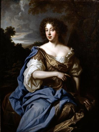 Portrait of a Lady Called Nell Gwynn, C.1670-Sir Peter Lely-Giclee Print
