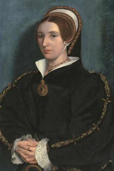 Portrait of a Lady, Thought to Be Catherine Howard-Hans Holbein the Younger-Giclee Print