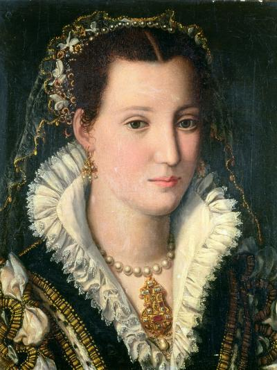 Portrait of a Lady-Alessandro Allori-Giclee Print