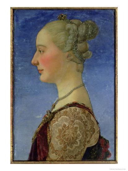 Portrait of a Lady-Antonio Pollaiolo-Giclee Print