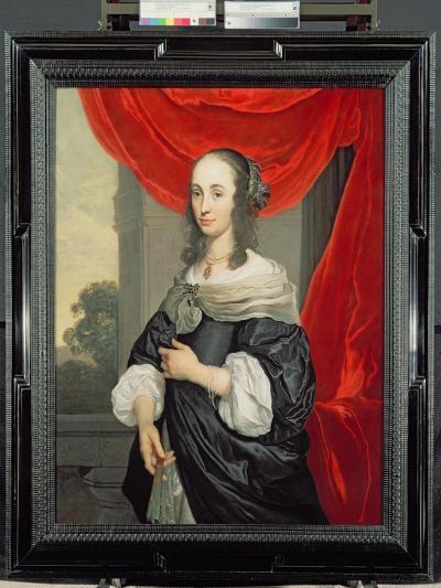 Portrait of a Lady-Louis-Michel van Loo-Giclee Print