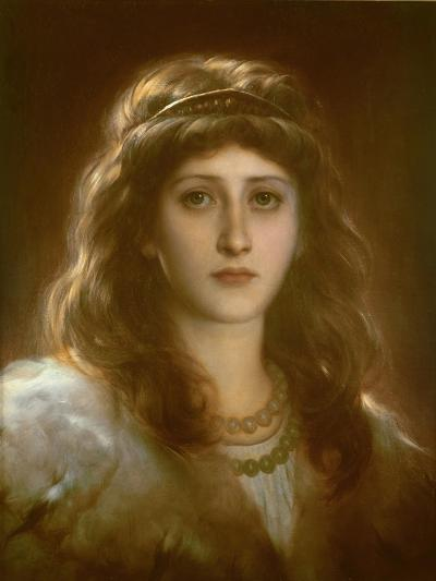 Portrait of a Lady-Frank Bernard Dicksee-Giclee Print