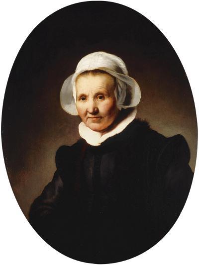 Portrait of a Lady-Rembrandt van Rijn-Giclee Print
