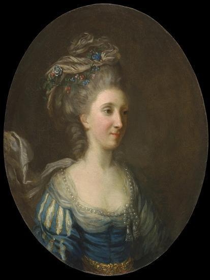 Portrait of a Lady-Thomas Hickey-Giclee Print