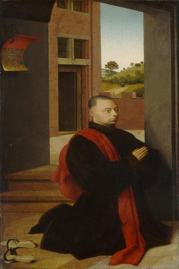 Portrait of a Male Donor, c.1455-Petrus Christus-Giclee Print