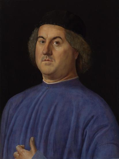 Portrait of a Man, 1497-Alvise Vivarini-Giclee Print