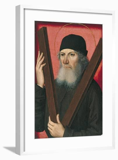Portrait of a Man as Saint Andrew--Framed Giclee Print