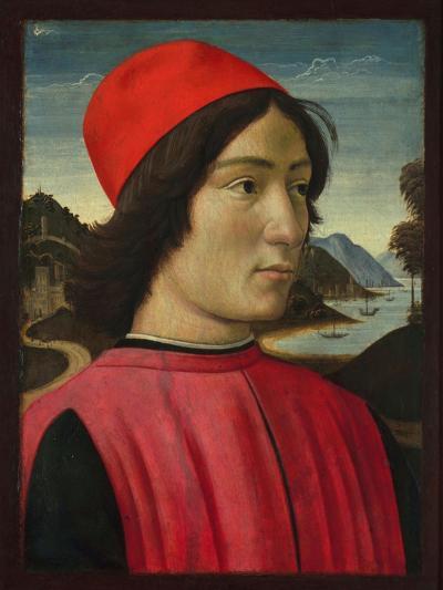 Portrait of a Man, C.1490-Domenico Ghirlandaio-Giclee Print