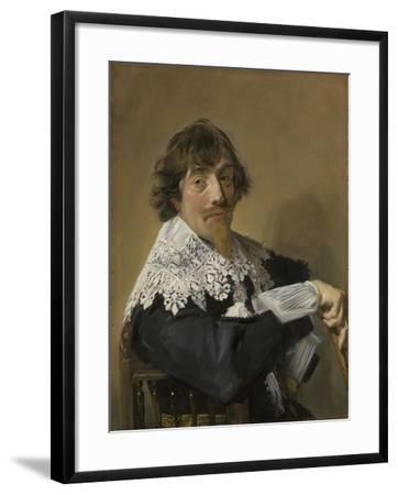 Portrait of a Man, C.1635-Frans Hals-Framed Giclee Print