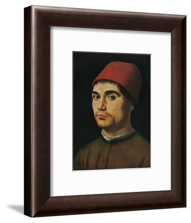 'Portrait of a Man', c1475, (1909)-Antonello da Messina-Framed Giclee Print