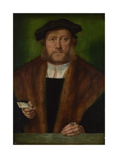 Portrait of a Man, Ca 1533-1534-Bartholomaeus Bruyn-Giclee Print