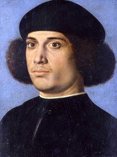Portrait of a Man, Early16th C-Andrea Previtali-Giclee Print