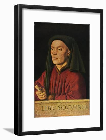 'Portrait of a Man ('Léal Souvenir')', 1432, (1909)-Jan van Eyck-Framed Art Print