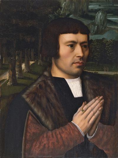 Portrait of a Man Praying-Ambrosius Benson-Giclee Print