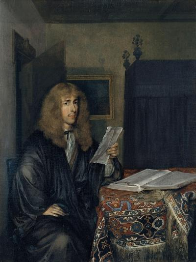 Portrait of a Man Reading a Document-Gerard Ter Borch the Younger-Giclee Print