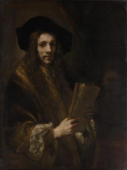 "Portrait of a Man (""The Auctioneer""), c.1658-62-Rembrandt van Rijn-Giclee Print"