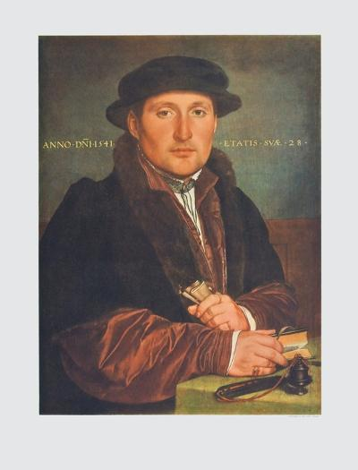 Portrait of a Man-Hans Holbein the Younger-Collectable Print