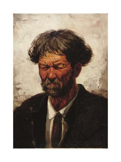 Portrait of a Man-Ilya Efimovich Repin-Giclee Print