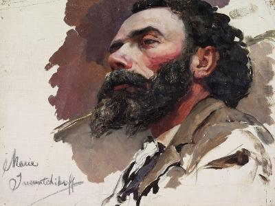 Portrait of a Man-Maria Iakunchikova-Giclee Print