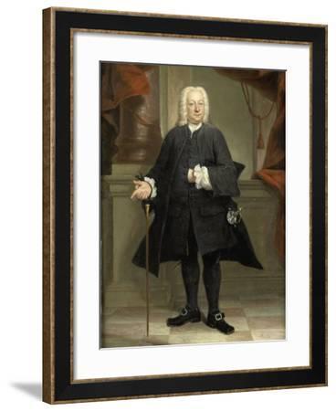 Portrait of a Man-Jan Maurits Quinkhard-Framed Art Print