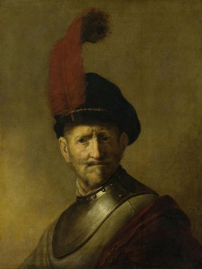 Portrait of a Man-Rembrandt van Rijn-Art Print