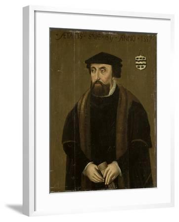 Portrait of a Man--Framed Art Print