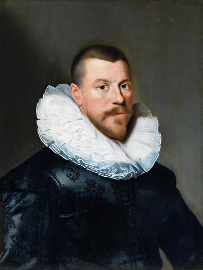 Portrait of a Middle-Aged Man, 1630-Paulus Moreelse-Giclee Print
