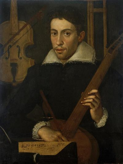 Portrait of a Musician, C. 1570-1590--Giclee Print
