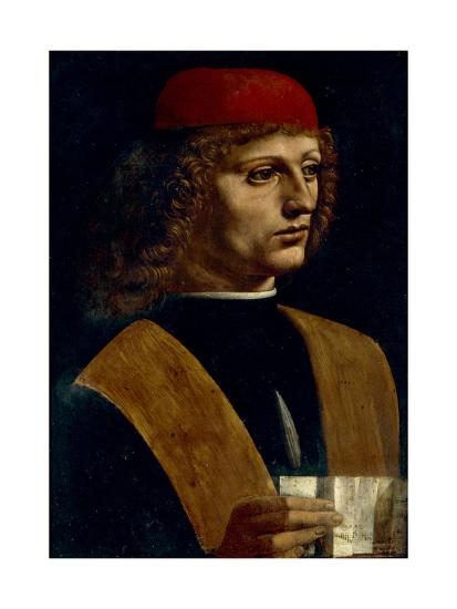 Portrait of a Musician-Leonardo da Vinci-Giclee Print