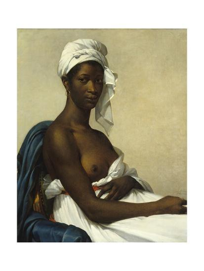 Portrait of a Negress by Marie Guilhelmine Benoist--Giclee Print