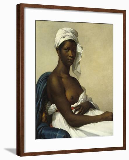 Portrait of a Negress by Marie Guilhelmine Benoist--Framed Giclee Print