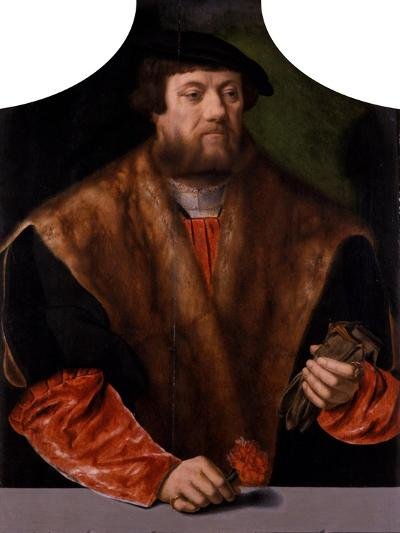 Portrait of a Nobleman, 1544-Bartholomaeus Bruyn-Giclee Print