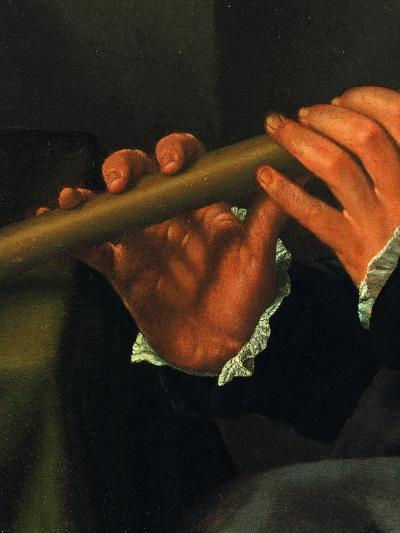 Portrait of a Player with Flute (The Flute Player)--Giclee Print