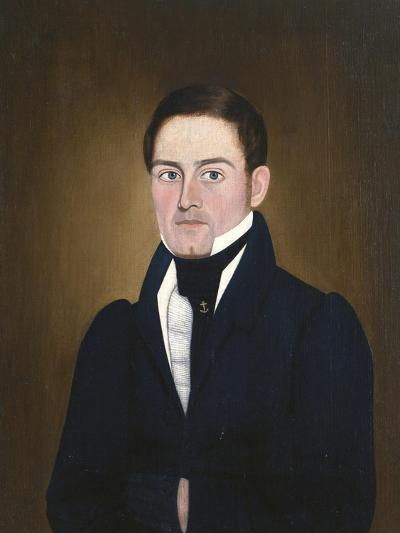 Portrait of a Sea Captain: James Reed of Newburyport, Massachusetts-John Brewster-Giclee Print