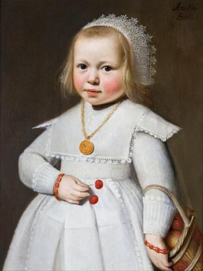 Portrait of a Two-Year Old Girl, 1636-Johan Cornelisz van Loenen-Giclee Print